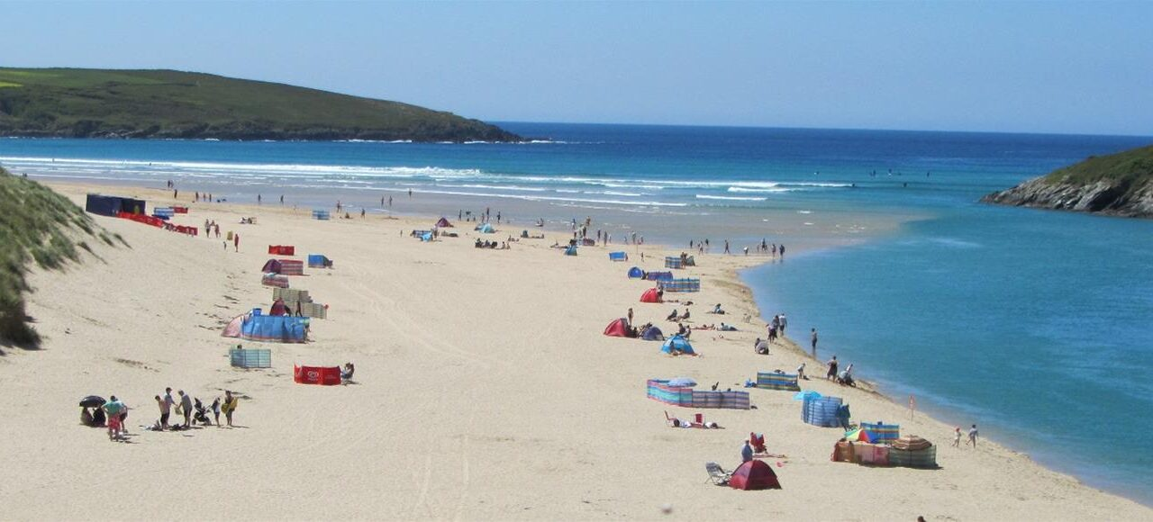 Beaches on the Outskirts of Newquay